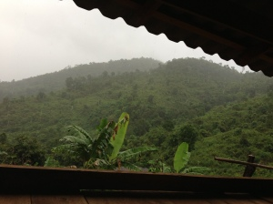 Rain in Huay Pakoot.  How could you, rain?
