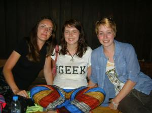 l to r: Siobhan, Kerri, Izzy. (photo from Siobhan)