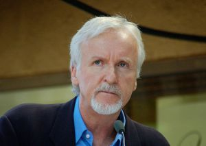 James Cameron. from Wikipedia http://en.wikipedia.org/wiki/File:JamesCameronHWOFOct20 by Angela George.