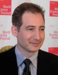 Brian Greene. From Wikipedia http://en.wikipedia.org/wiki/File:Brian_Greene_World_Science_Festival.jpg by Markus Poessel